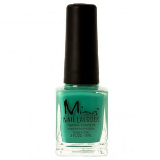Misa Nagellack - Blame It On Fat Tuesday - grön nagellack