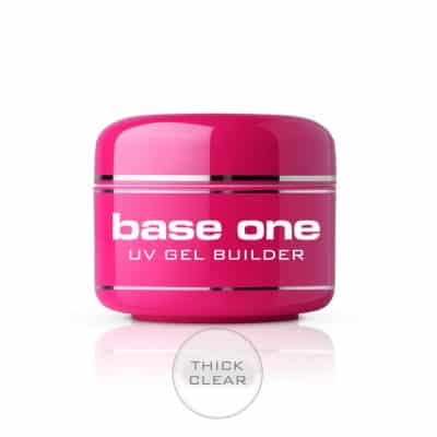 Base One Nagelgel Thick Clear - Nagelgelé - Byggel