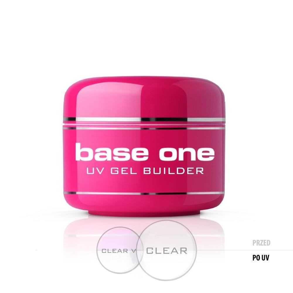 Base One Clear - Nagel gel Klar - Byggel