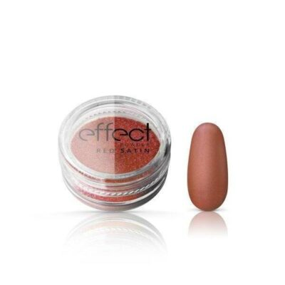 Red Satine Effect Powder