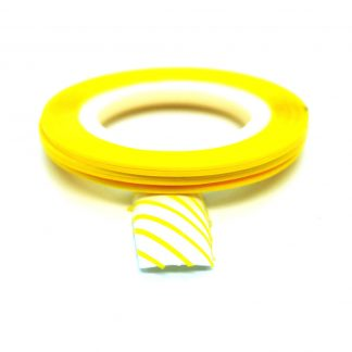 Striping tejp / Nageltejp / Nail strips Yellow