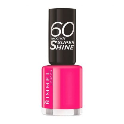 Nagellack Röd - Rimmel London - 60 Seconds Super Shine