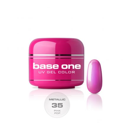 Base One Metallic Pink Pop- 5g